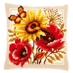 Poppies & Sunflowers -...
