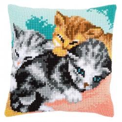 Cute Kittens - Chunky Cross...
