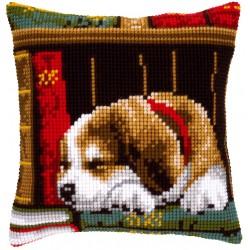 Dog Sleeping - Chunky Cross...