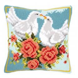 White Doves - Chunky Cross...