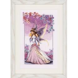Purple Fairy: Counted Cross...
