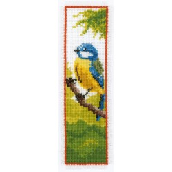 Blue Tit: Bookmark: Counted...