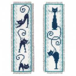 Cheerful Cats: Set of 2:...