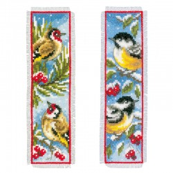 Birds in Winter: Set of 2:...