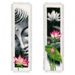 Lotus & Buddha: Set of 2:...