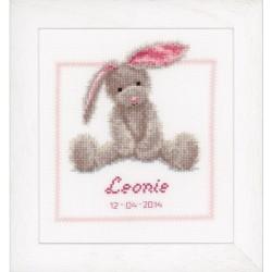Cute Bunny: Counted Cross...