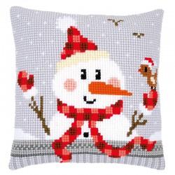 Snowman - Chunky Cross...