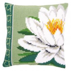 White Lotus Flower - Chunky...
